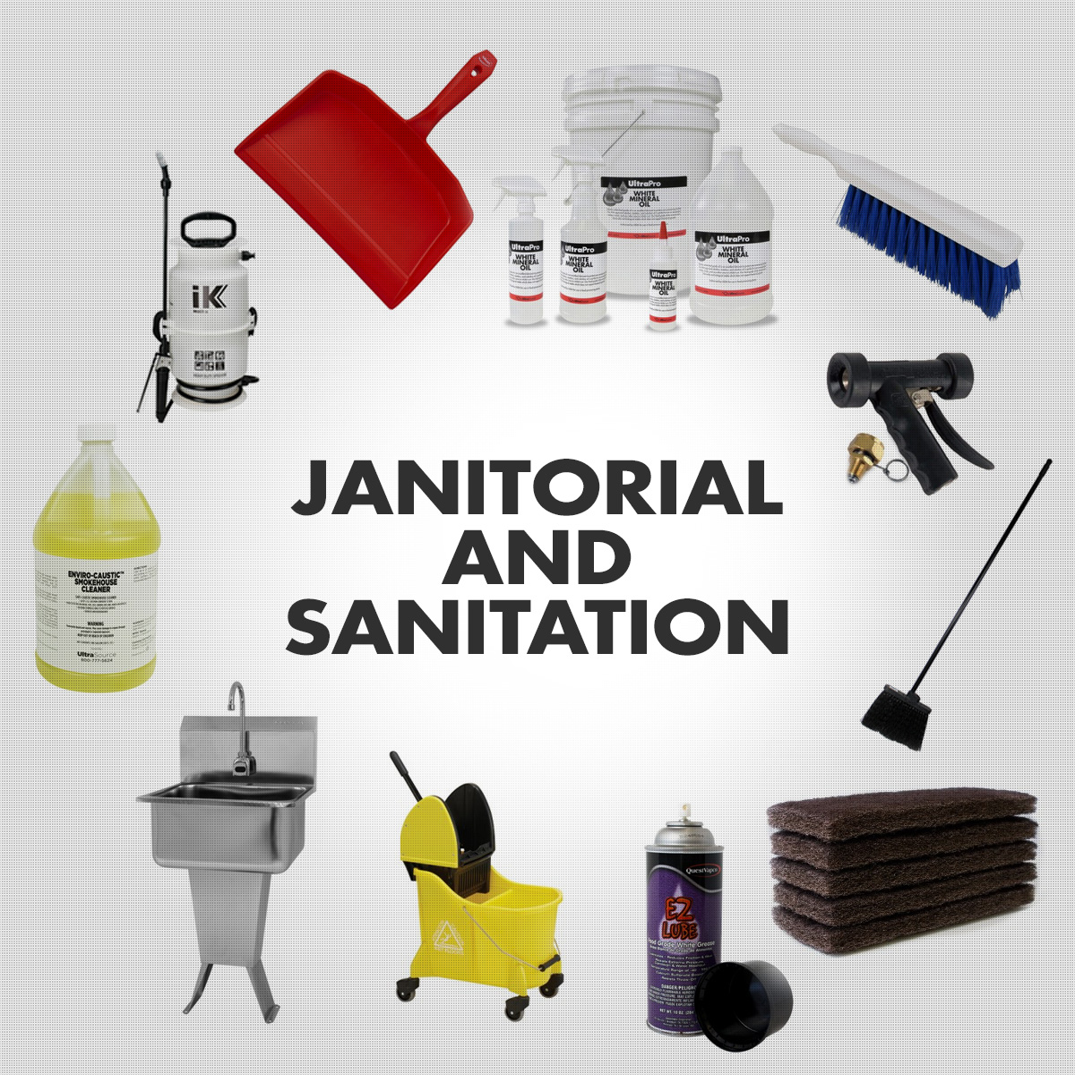 Janitorial and Sanitation - Industrial Cleaning Supplies
