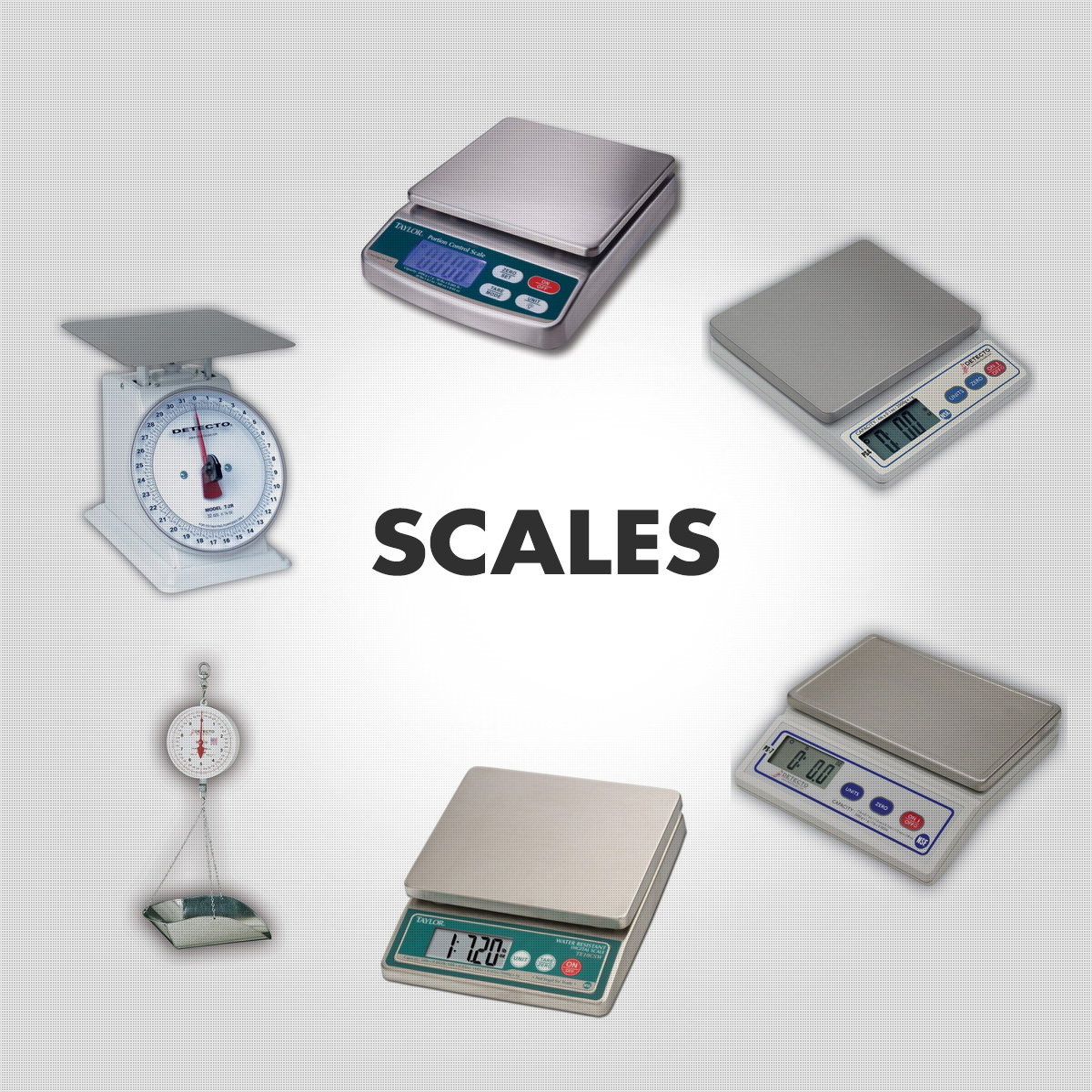 Scales - Digital, Dial, Scoop, Waterproof
