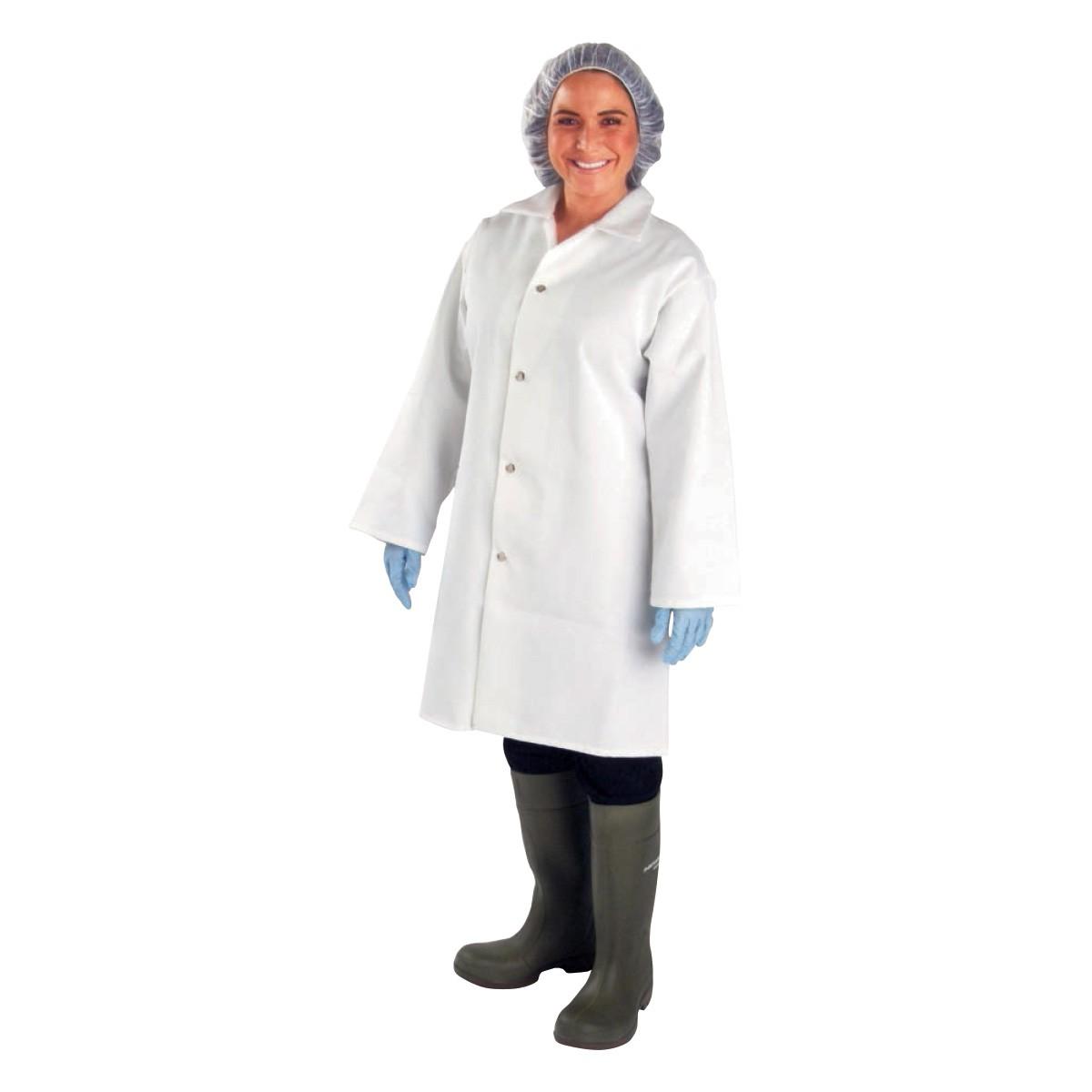 White apron for lab - White Smocks Lab Coats