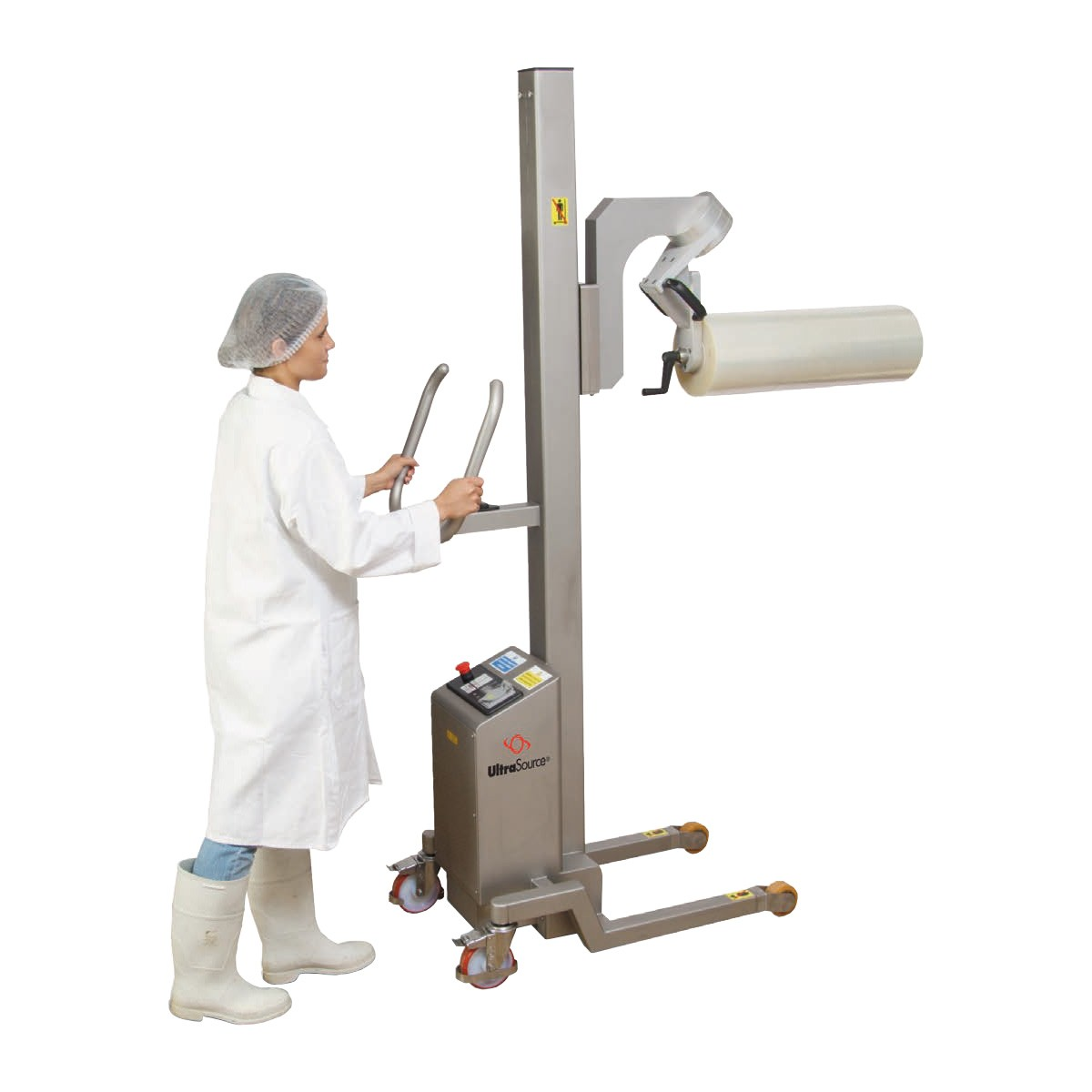 EZ Lift Rollstock Film Hoist / Paper Roll Handling With