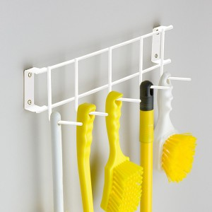 UltraSource Brush and Broom Rack