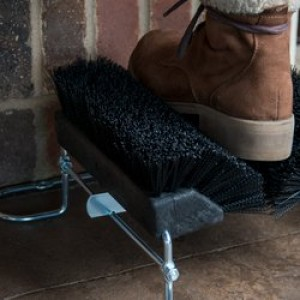 """Replacement Boot and Shoe Brushes, 10"""" length, in Blue, Black or Brown"""
