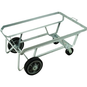 Steel Undercarriage - Galvanized - for Dump and Storage Tubs with Dumping Feature