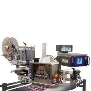 Matrix PT package top labeler from UltraSource