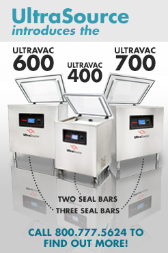 New Ultravac 400, 600, & 700 Vacuum Packaging Machines