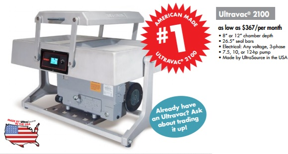 Ultravac Double Chamber Vacuum Packaging Machines