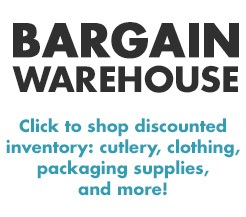BARGAIN WAREHOUSE - CLOSEOUT SUPPLIES!