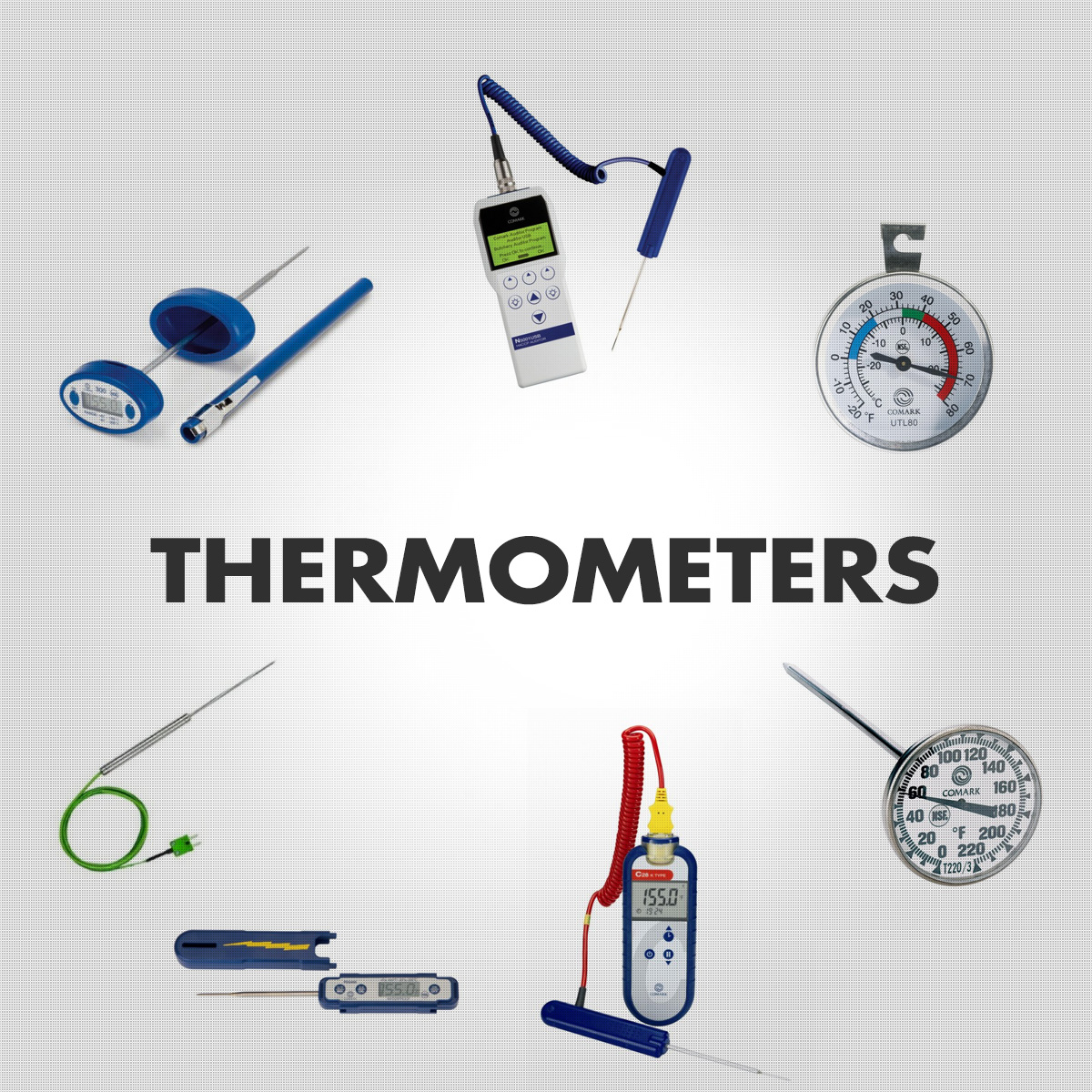 Thermometers - Digital and Dial Meat Thermometers