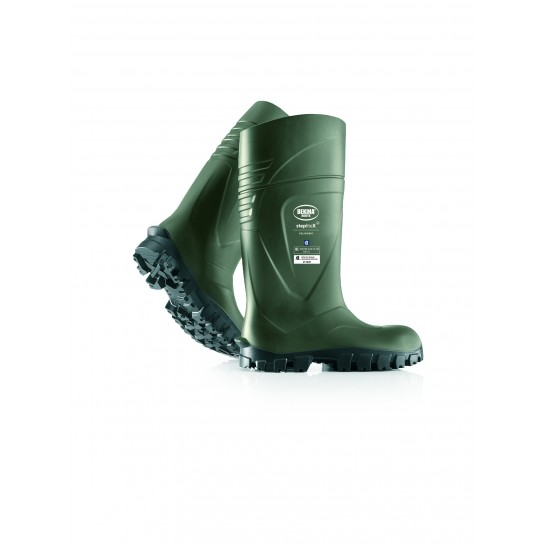 Bekina StepliteX Solidgrip Dark Green Boots