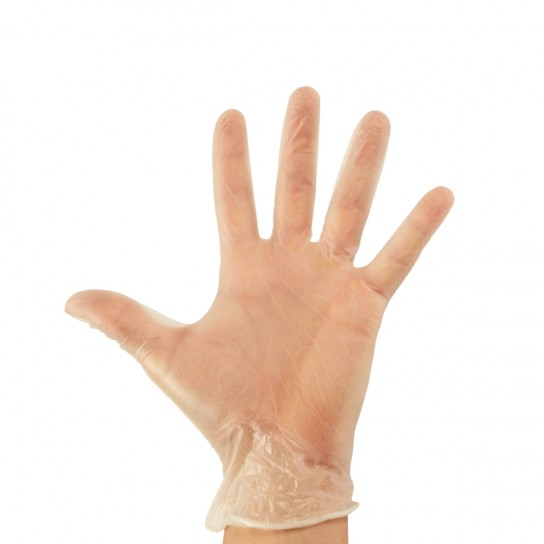 Vinyl Disposable Gloves - Clear, Powder Free UltraGlove™