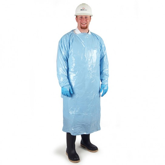Disposable PolyWear Gown Blue 450060, 450063, 450066