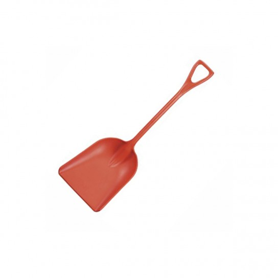 500243 UltraSource Remco Plastic Red Shovel