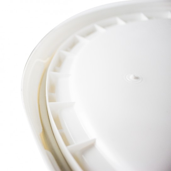 500330 White 5 Gallon Bucket Lid