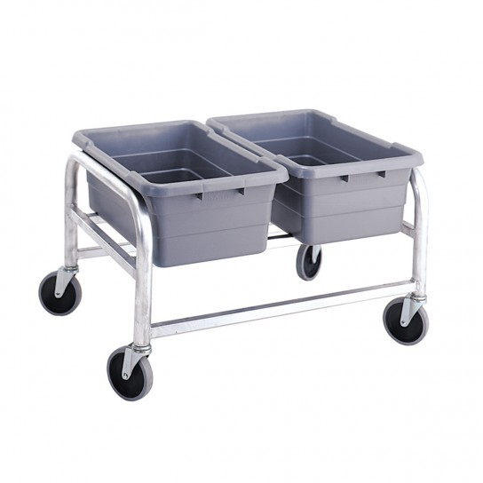 502008 Two Tote Capacity Horizontal Cart