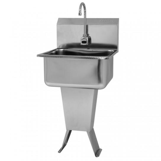 505526 Sani-Lav Hands Free Pedestal Sink