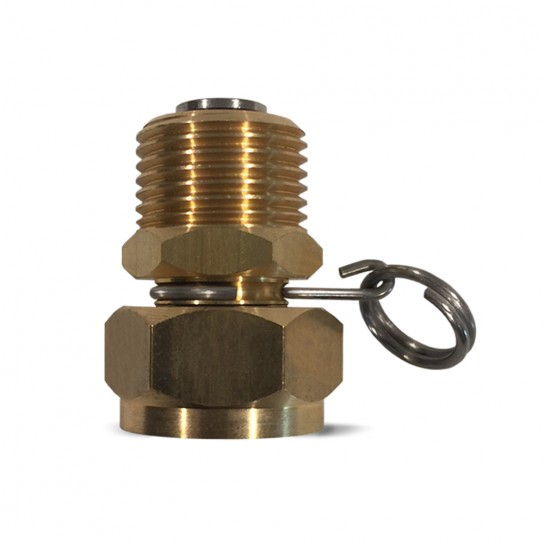 """SWIVEL ADAPTER, 3/4"""" GHT X 3/4"""" GHT"""
