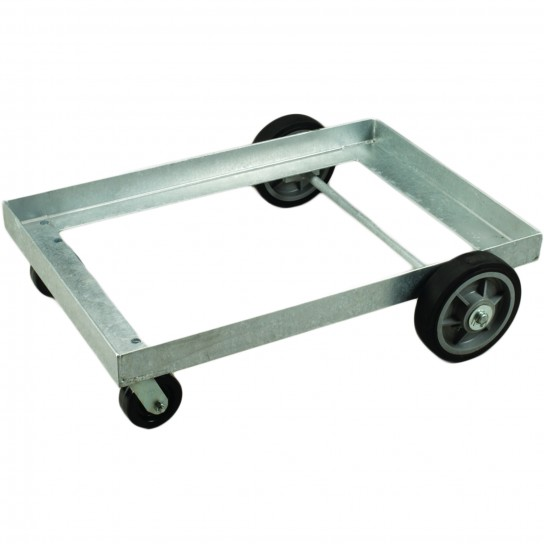 Low Level Steel Undercarriage - Galvanized - for Dump and Storage Tubs