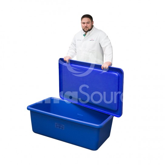 Transport Storage Tub With and Without Drain - White