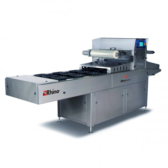 Automatic Tray Sealer, the Rhino 10 from UltraSource, with Modified Atmosphere Packaging Capabilities