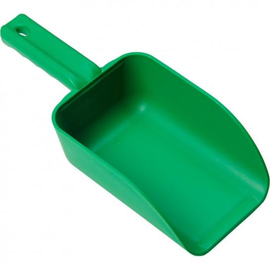 500301 32 Ounce Green Hand Scoop