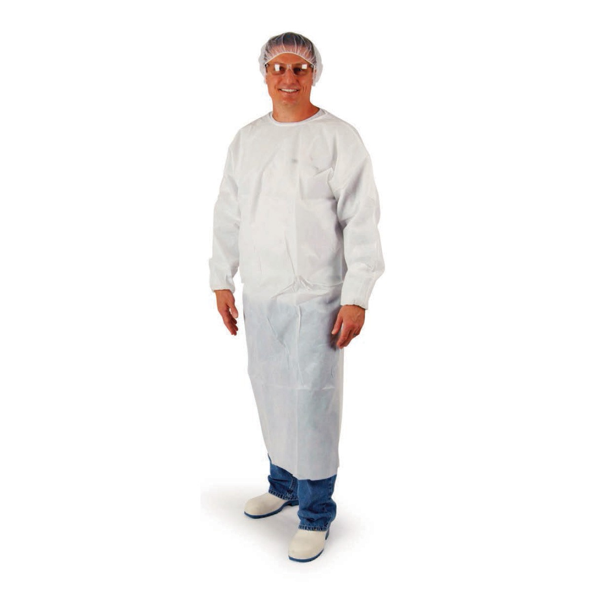 Polyethylene Coated Disposable Gowns   UltraSource food equipment ...
