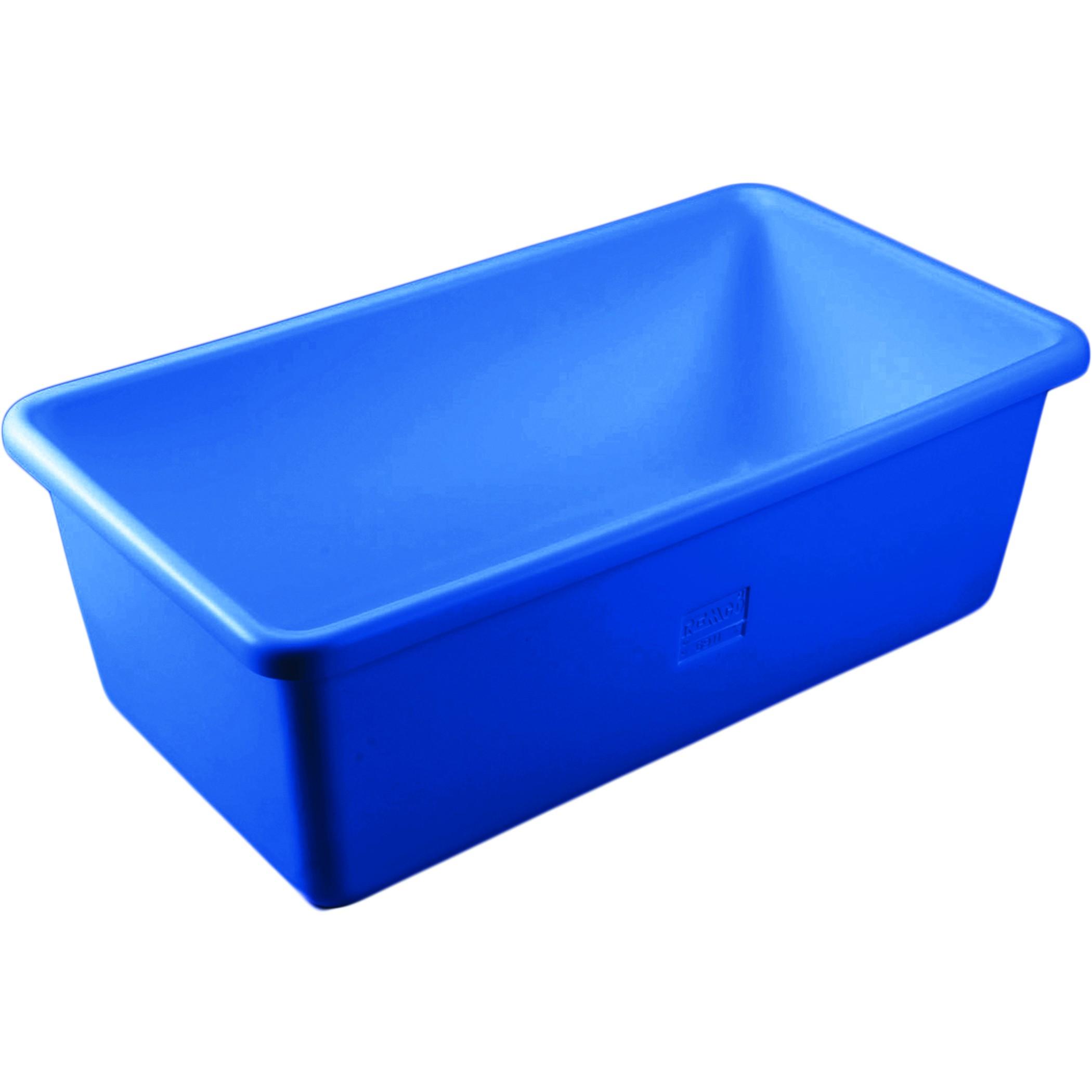 Funky Blue Tub Vignette - Bathtub Design Ideas - klotsnet.com