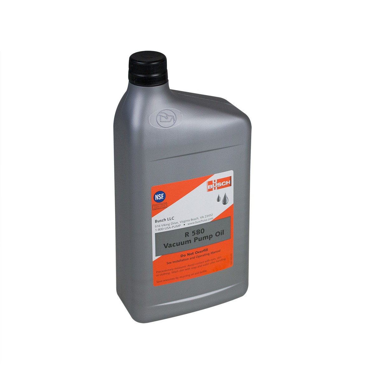 Oil 15W Non-Detergent (R580) for use in the Ultravac 225/250