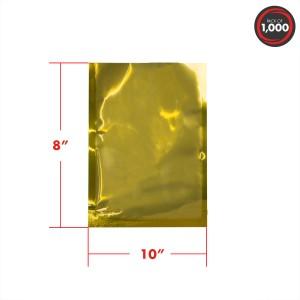 8x10 4mil gold