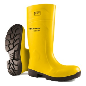 "Dunlop 14"" Purofort Full Safety Boots - Yellow"