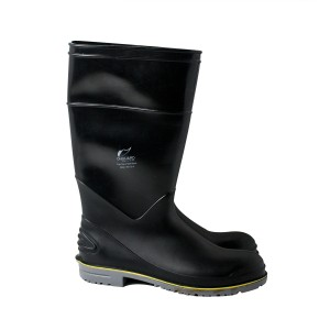 "16"" Black Flex 3 Boots - Plain or Steel Toe"