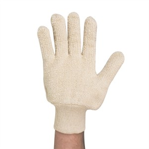 441104 and 441105 Terry Cloth Thermal and Cut Protection Gloves