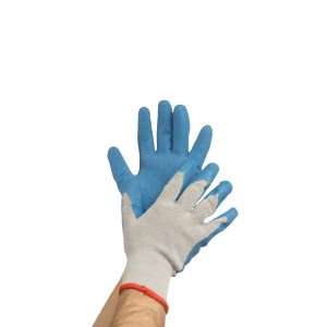 Latex Coated Cotton/Poly Gloves