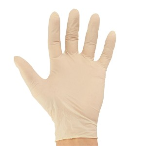 Latex Disposable Gloves - Powder Free or Powdered