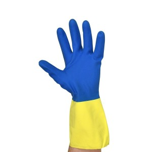 SOLD OUT BARGAIN WAREHOUSE ITEM - Neoprene Over Natural Rubber Gloves - Hurry, limited supply