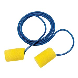 Corded Ear Plugs - Case of 200 Individually Wrapped Pairs