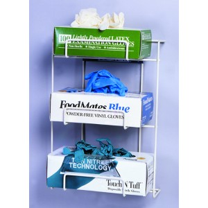 445410_Triple Box Wire Glove Dispenser