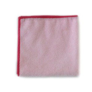 "Microfiber Polishing Cloths (Pack of 12, 16"" x 16"" cloths)"