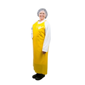 450103 Yellow Polyurethane Apron 8 Mil