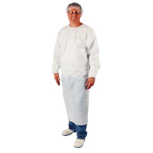 Polyethylene Coated Disposable Gowns