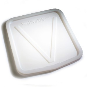 Molded Lid for V-Edge Dump Buggy