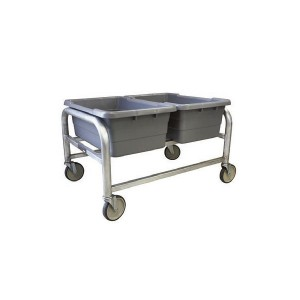 Horizontal 2-Tote Capacity Dolly