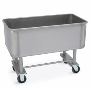 505003 Stainless Steel Elevated Truck (500-lb. capacity)