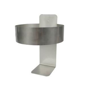 505564 Mountable Stainless Steel, One Gallon Bottle Holder