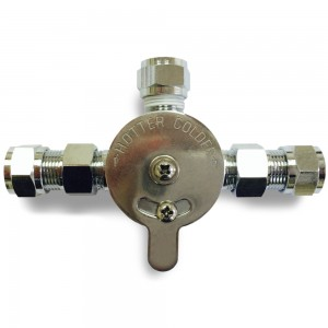 MANUAL MIXING CHECK VALVE
