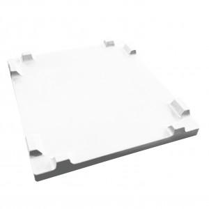 STACKING LID 48 X 44 COMBO BIN WHITE