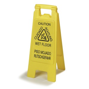 Economy Wet Floor Sign