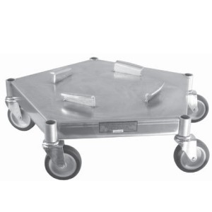 Heavy Duty Drum Aluminum Dolly
