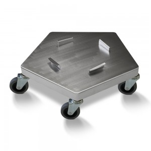 STAINLESS STEEL DRUM DOLLY