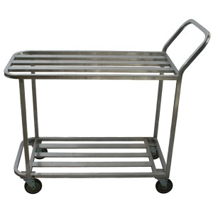 All Welded Aluminum Cart