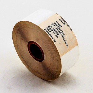White Hot Stamp Ribbon